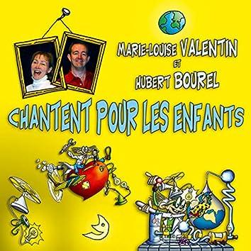 Marie-Louise Valentin et Hubert Bourel chantent pour les enfants