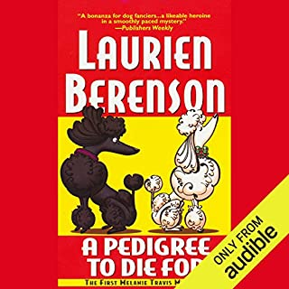 A Pedigree to Die For audiobook cover art