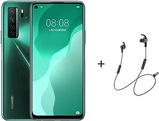 "Huawei Nova 7 SE Smartphone,Dual SIM,128GB ROM,8GB RAM,6.5"" Display-Green + AM61 LITE BT Headphones"