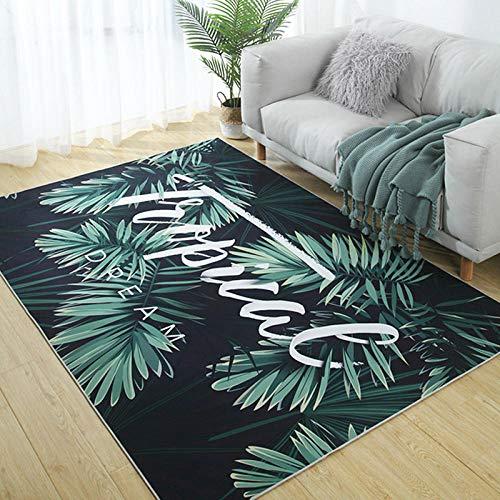 Estilo moderno sofá salón Carpet Dormitorio té verde mesa mesa habitación habitación noche mate – 1,4 x 2 metros
