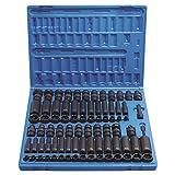 Grey Pneumatic 1281 Chrome Socket_Sets, 81 Pack