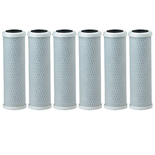 Pentek CBC-10 0.5 Micron Standard 10 Inch Carbon Block Water Filter 6 Pack