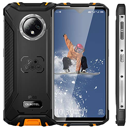 Rugged Smartphone, 2021 OUKITEL WP8 Pro Waterproof Mobile Phone, 6.49...