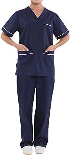 PICTURESQUE Unisex Slipcase Baggy + Slip Pants Set Medicine Doctor Uniform Workwear Nurse Bandage Clothing