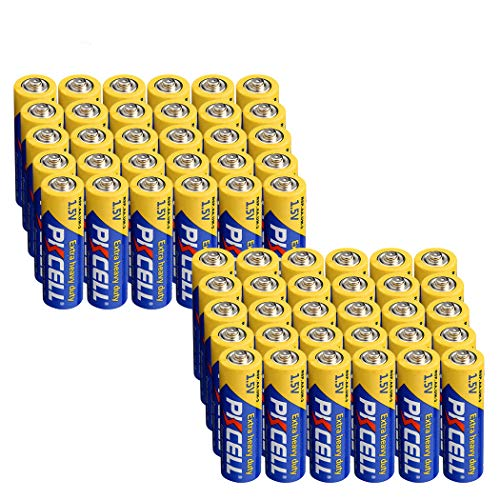 1.5V AA Batteries R6P UM3 MN1500 E91 (60pc)
