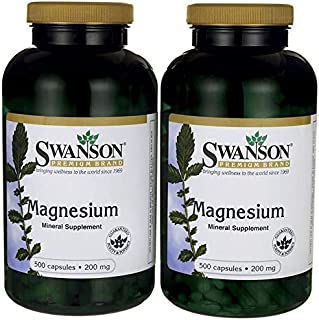 Swanson Magnesium 200 mg 1000 Caps