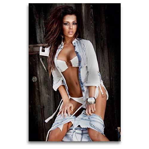 Premium Textil-Leinwand 80 x 120 cm Hoch-Format Traumfrauen. Sündhaft schön   Wandbild, HD-Bild auf Keilrahmen, Fertigbild auf hochwertigem Vlies, Leinwanddruck von Elisabeth Stanzer