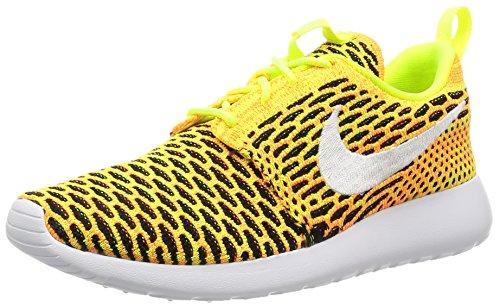 Nike 704927-702, Scarpe da Trail Running Donna, Giallo Fluo/Bianco/Arancione/Nero (Amarillo Volt White Total Orange Black), 37.5 EU