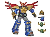 Power Rangers Zeo Megazord 12-inch Collectible Action Figure Highly Posable Toy with Multiple Helmets and Accessories Classic TV Series-Inspired