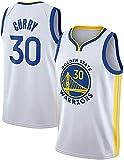 Movement Camisetas De Baloncesto De Malla De Malla Sin Mangas Curry Golden State Warriors # 30 Swingman Jersey(Size:/M,Color:G1)