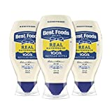 Enjoy the creamy, delicious taste of Best Foods Real Mayonnaise, a naturally gluten-free condiment in a convenient real mayo squeeze bottle This gluten-free mayo is made with real, simple ingredients like 100percent certified cage-free eggs, oil and ...