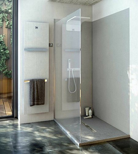 Duschrückwand OHNE FUGEN 240x80 cm aus 7 mm Mineralguss, Duschrückwände, Badezimmer fliesen, Fliesen Badezimmer, fugenloses Ba