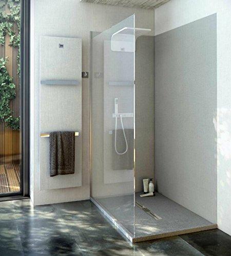Duschrückwand OHNE FUGEN 240x100 cm aus 7 mm Mineralguss, Duschrückwände, Badezimmer fliesen, Fliesen Badezimmer, fugenloses Ba