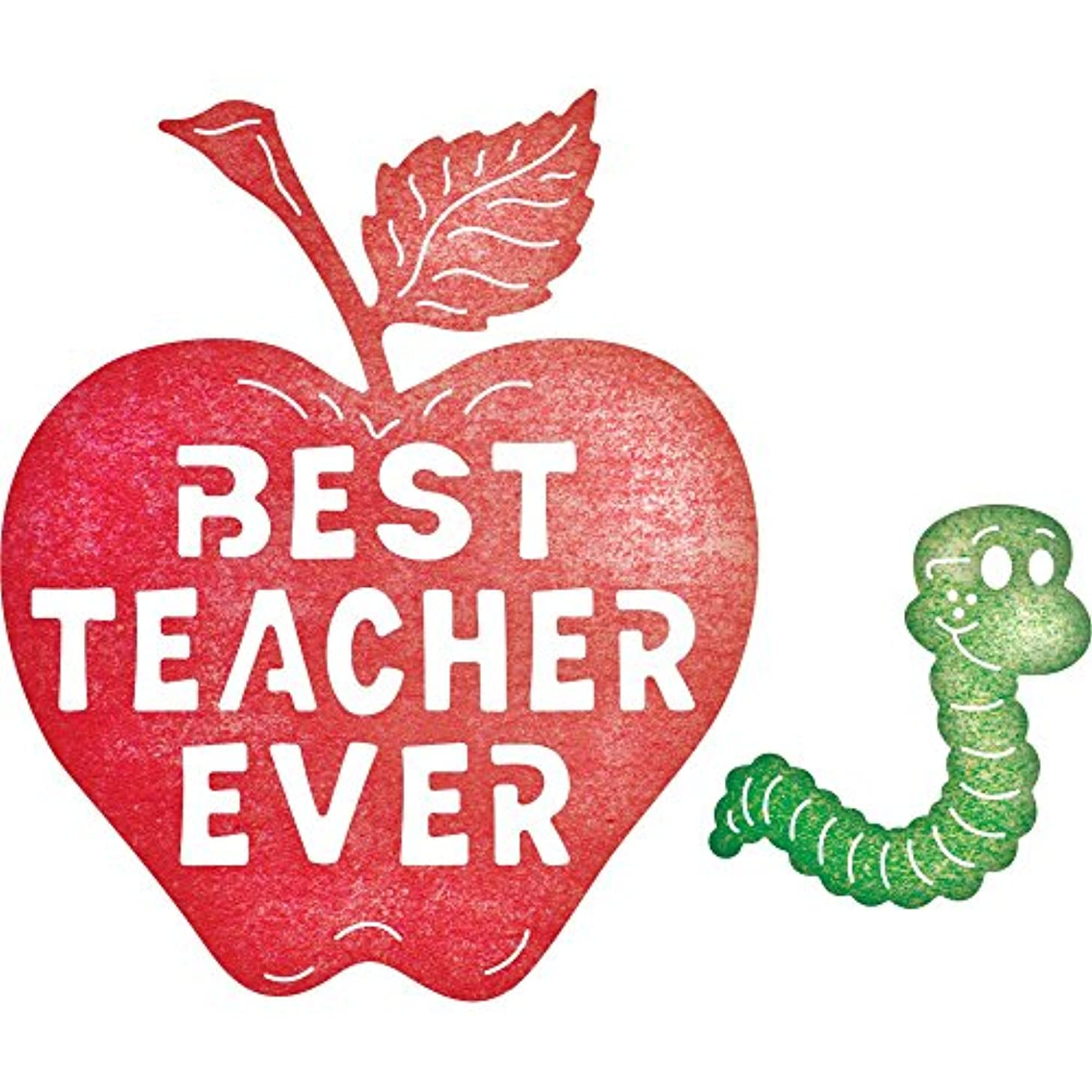 Cheery Lynn Designs B652 Best Teacher Ever Die Cuts