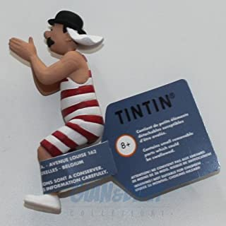2016 Figura de colección Tintín Hernández en bañador Moulinsart 42196