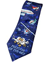 Stonehouse Collection Men's Happy New Year's Tie - Funny New Year Tie