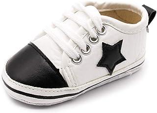 [CHIIKA] ベビーシューズ ファーストシューズ スニーカー キッズ 子供靴 男の子 女の子 スター 可愛い 滑り止め 耐久性 通気性 履きやすい 素敵 快適さ 歩きやすい 運動会 入学式 出産祝い 発表会