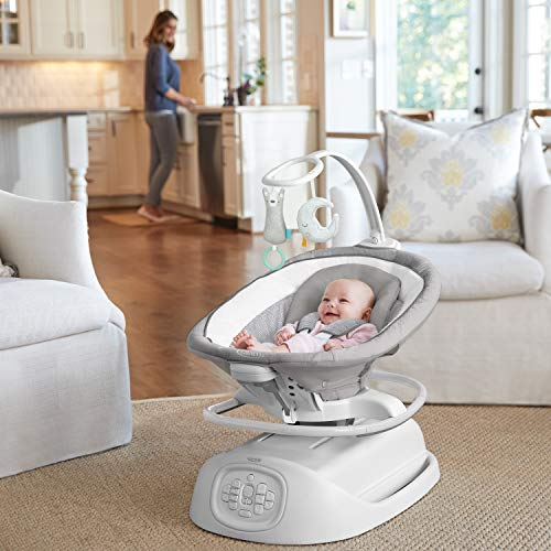 51W5zffA75L The Best Battery Operated Baby Swings in 2021 Reviews