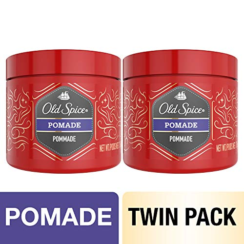 Old Spice Pomade for Men, Hair Treatment, 2.64 Oz, Twin Pack