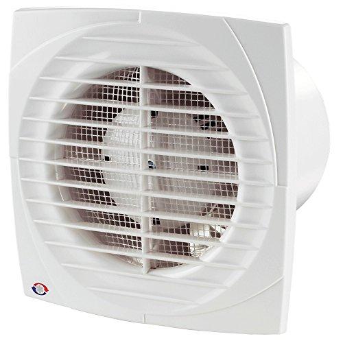 VENTS DL TIMER HYGRO Ventilator Lüfter Badlüfter bis zu 292 m³/h. 100, 125 und 150 mm Nachlauf Feuchtigkeitssensor (Ø150 mm)