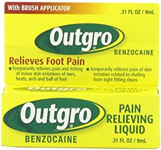 Outgro Pain Relieving Liquid with Brush Applicator, 0.31 Ounce by Outgro