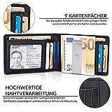 Zoom IMG-1 travando portafoglio uomo piccolo con
