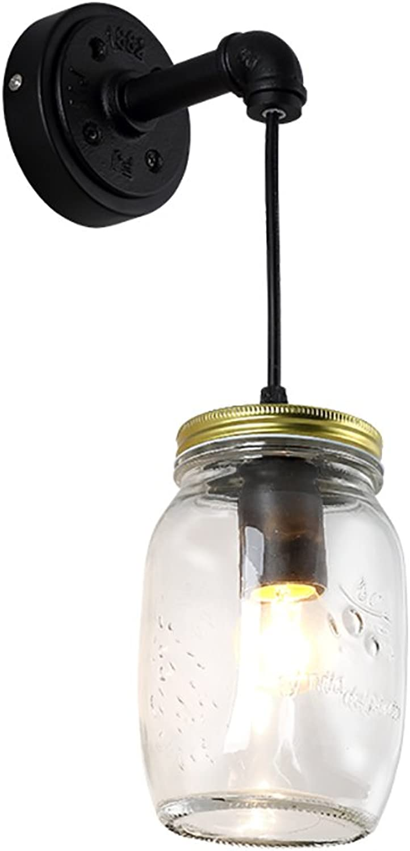 GXY Einfache Glas Gang Schlafzimmer Studie Nachttisch Café Bar kreative Persnlichkeit LED Wandleuchte Wandlampe
