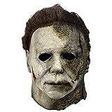 STKK Halloween Kills Michael Myers 2021 Mask, Realistic Horror Mask for Carnival Costume Party Masquerade,Horror Movie Cosplay Mask,Latex Full Head Mask Grey