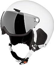 Crivit Skihelm snowboardhelm veiligheidshelm helm helm DIN EN 1077/klasse B contrastversterkend, spiegelgecoat vizier met ...