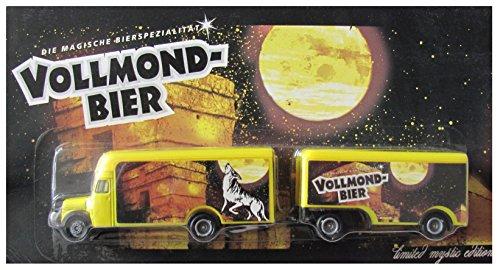 Wolfshöher Nr.53 - Vollmond Bier - MB L311 Koffer - Hängerzug Oldie