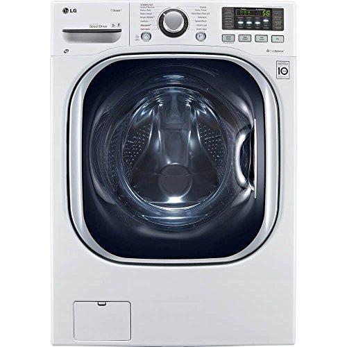 LG WM3997HWA Ventless 4.3 Cu. Ft. Capacity Steam Washer/Dryer Combination with TurboWash,...