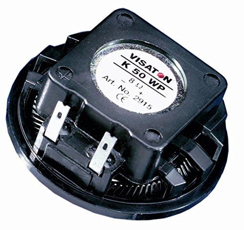 Visaton 2917Lautsprecher für MP3& iPod schwarz