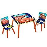 Disney Cars - Set aus Tisch und 2 Stühlen für