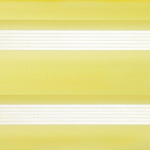 Doppelrollo, Liedeco, »Klemmfix DUO-Rollo YOUNG COLOURS«, Lichtschutz, Fixmaß, ohne Bohren
