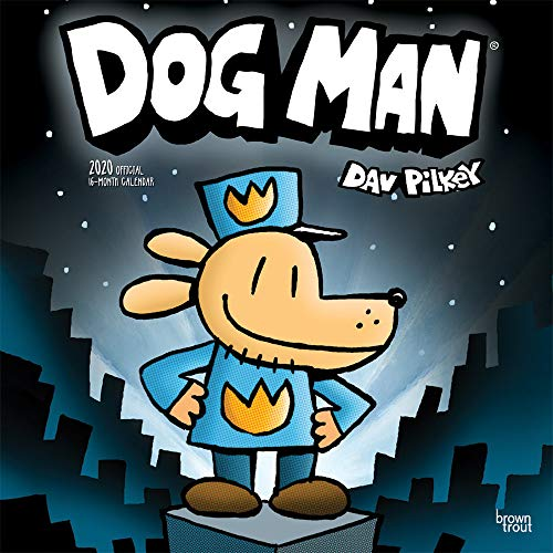 Dog Man 2020 Square Wall Calendar