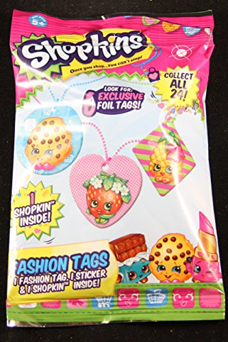 Shopkins Season 1 Fashion Tag Mystery Pack Toy Set [Styles And Colors Will Vary]