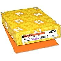 500-Sheets Neenah Cosmic Orange Paper Color Paper