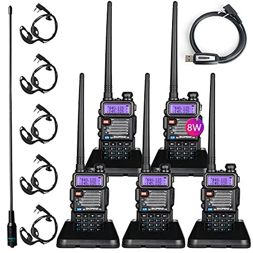 BaoFeng BF-F8HP (UV-5R 3rd Gen) 8-Watt Dual Band Two-Way Radio