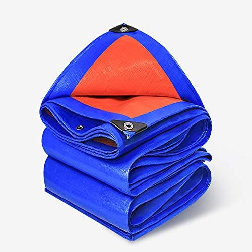 HJJ Bâche bâche imperméable Lourde Couverture à Effet de Serre/Tissu de Protection Solaire/ombrage Tissu/Maille bâche Filet/Couverture/Pique-Nique Anti-UV/Ombre Nette/surdimensionné bâche de