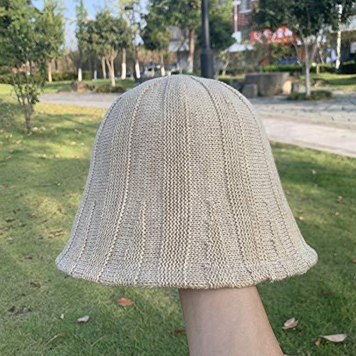 Xme Sombrero de Pescador de Color sólido de otoño e...