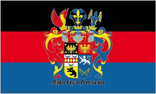 Fahne / Flagge Ostfriesland Schrift 90 x 150 cm