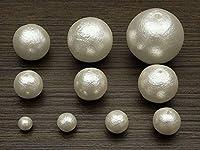 コットンパール ホワイト 丸玉 6mm~30mmでサイズ選択【個数販売】 (20mm 4コ販売)