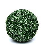 HAOJON Bola de Hierba de Planta Artificial, Bola de boj Recortada Artificial Bola de Milán Decoración de Planta Verde Techo Péndulo de Flores Artificiales de plástico, 41 CM