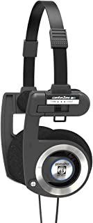 Koss Porta Pro Black On Ear Headphones with Case Black