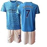 TAOZHUANG 20/21 Niños Sterling 7# Camiseta de fútbol Camiseta de Jugador (Niños de 4 a 13 años) (26)