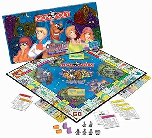 Scooby Doo Monopoly, Fright Fest Edition by USAopoly