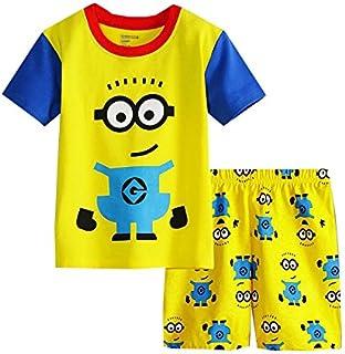 (スマートキッズ) SMARTKIDS男の子半袖パジャマ上下セット ミニオンズ 黄色