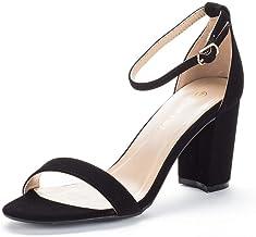 Amazon.com: Size 11 Wide Black Heel Sandals