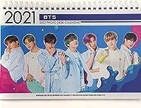 BTS フォトデスクカレンダー 2021-2022 (BTS全メンバー)