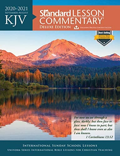 KJV Standard Lesson Commentary Deluxe Edition 2020 2021 product image